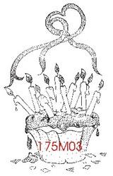 Birthday Cupcake - 175M03