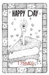 Happy Day Birthday Cake - 175M01
