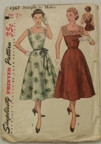 Vintage Simplicity 4347 Sewing Pattern