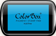 Cyan Colorbox Ink Pad