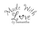 Made with Love By Custom Rubber Stamp - C657