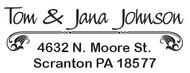 Self Inking Address Stamp - C585