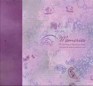 "Memories Purple 12"" x 12"" Postbound Album"