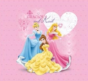 Disney Princess Glitter and Embossed Postbound Album