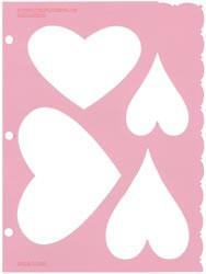 Deja Views Romance #1 Heart Template