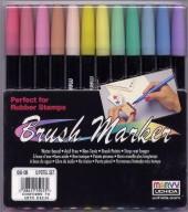 Pastel Brush Markers
