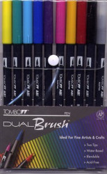 Tombow Primary Dual Brush Markers