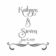 Wedding Custom Rubber Stamp