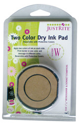 JustRite Reversible Dry 2 Color Pad 1 5/8""