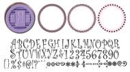 JustRite Curlz Monogram Kit