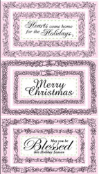 JustRite Christmas Nested Frames & Occasions