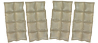 TechKewl Phase Change Cooling Military Vest Insert Sets