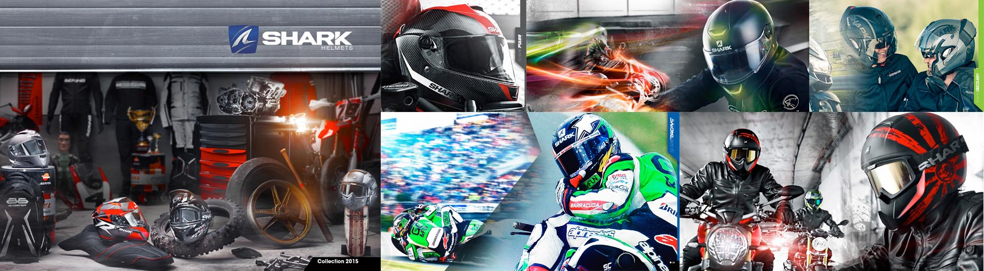 Shark 2015 Motorcycle Helmet Range