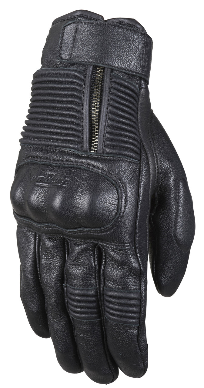 Motorcycle gloves d30 - Furygan James D3o Gloves Black