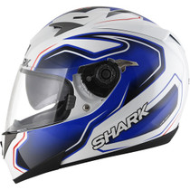 Shark S700S Helmet - Guintoli Replica - White / Blue