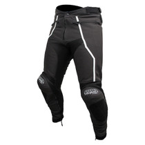 ARMR Moto Raiden 2 Leather Trousers - Black / White