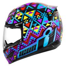 Icon Airmada Georacer Helmet - Blue