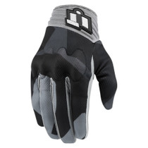Icon Anthem Deployed Touchscreen Gloves - Grey