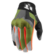 Icon Anthem Deployed Touchscreen Gloves - Green