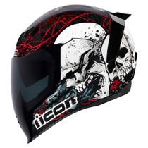 Icon Airflite Skull18 Helmet - Black