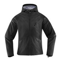 Icon Team Merc Stealth Ladies Jacket - Stealth Black