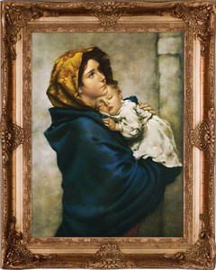 Madonna of the Streets Museum Framed Art