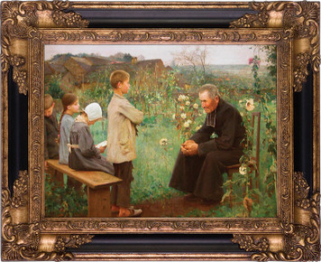 Catechism Lesson Museum Framed Art