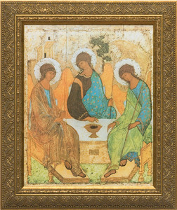 Holy Trinity Angels Framed Art