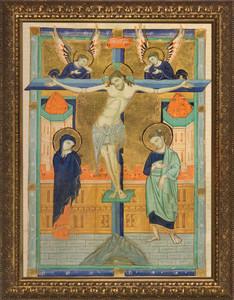Crucifixion Icon Framed