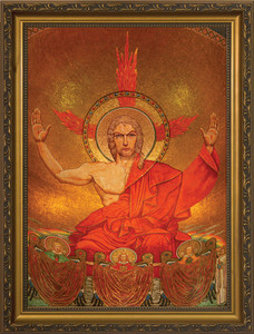 Christ in Majesty Framed Art