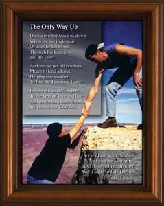 Brotherhood Poem Framed