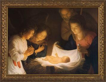 Nativity Framed Art