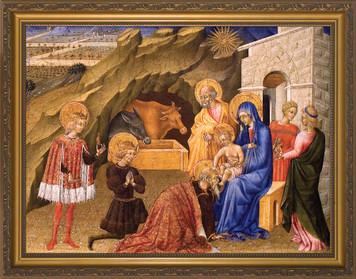 Adoration of the Three Magi Framed Art