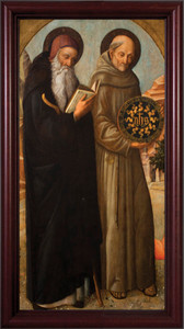 Sts. Anthony and Bernardino of Siena Framed Art