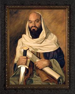 St. Paul by Jason Jenicke - Ornate Dark Framed Art
