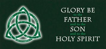 Trinity with Glory Be Mug