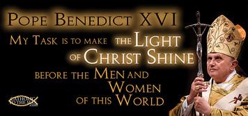 Pope Benedict XVI 'Light of Christ' Mug
