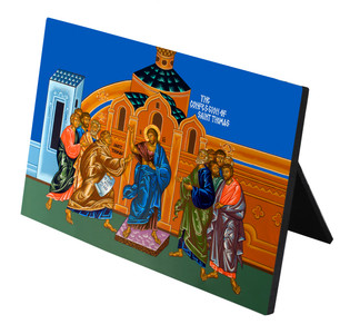 Confession of St. Thomas Horizontal Desk Plaque