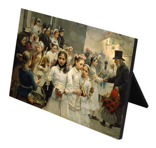 After the First Holy Communion Horizontal Desk Plaque