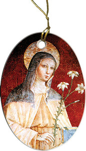 St. Clare of Assisi Ornament