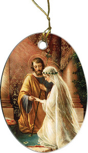 Marriage of Joseph & Mary Ornament