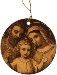 Holy Family (Antique) Ornament