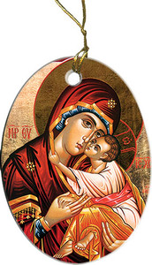 Madonna and Child II Ornament