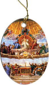 Disputation of the Eucharist Ornament