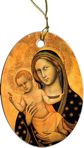 Our Lady of Bologna II Ornament
