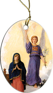 Annunciation III Ornament