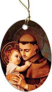 St. Anthony of Padua Ornament