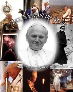 Pope John Paul the Great Poster