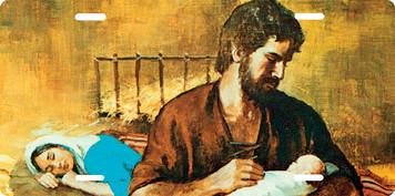 St. Joseph Fatherhood License Plate