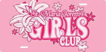 Maria Goretti Girls Club License Plate